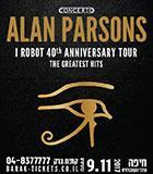 ALAN PARSONS I ROBOT 40th Anniversary Tour  אלן פרסונס